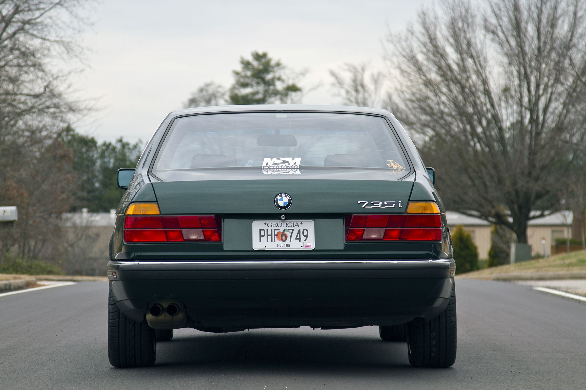 1990 bmw 735i owners manual