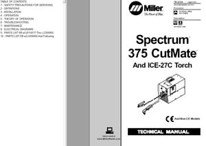 miller spectrum 125c owners manual