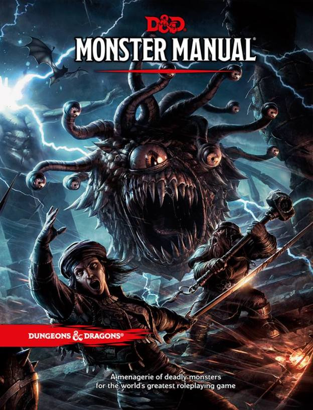 dungeons and dragons monster manual 2