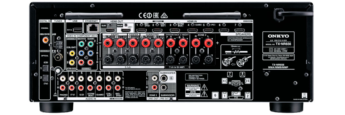 onkyo tx nr656 user manual