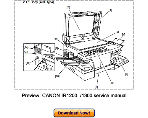 canon imagerunner 1310 service manual