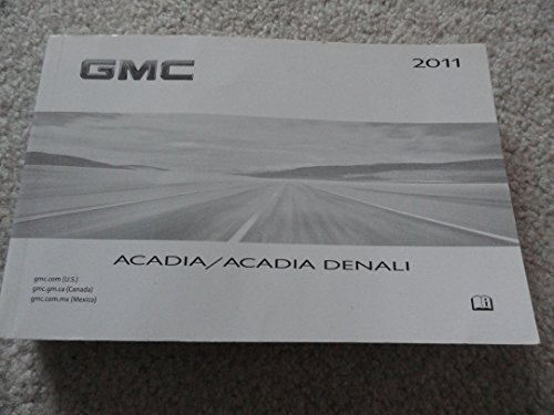 2019 gmc acadia owners manual