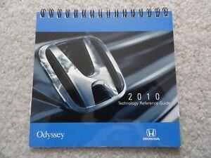 2010 honda odyssey owners manual