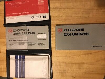 dodge caravan 2004 owners manual