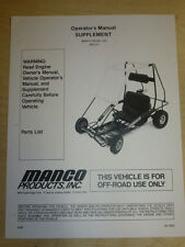 drift 2 go kart manual