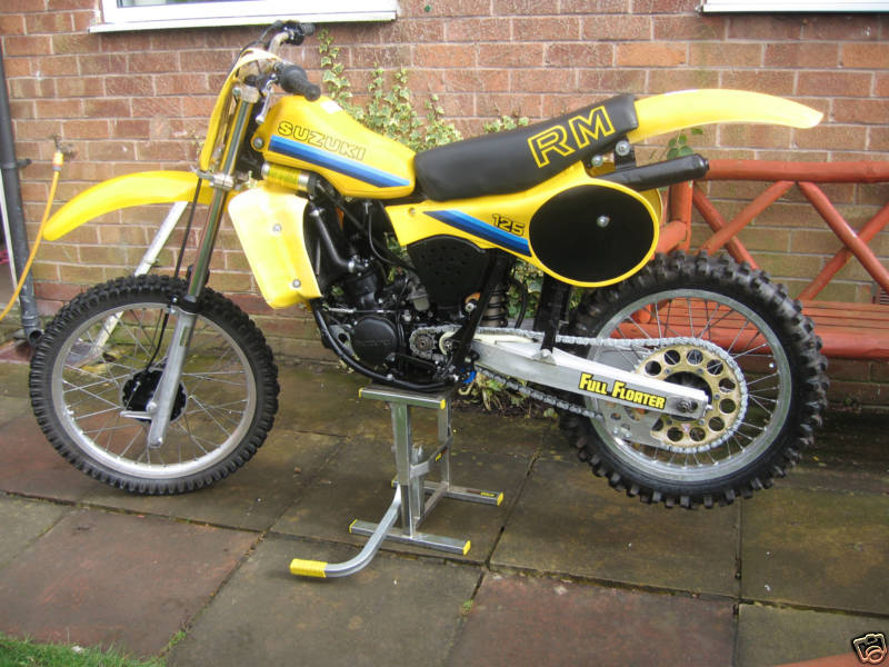 1981 suzuki rm 125 owners manual