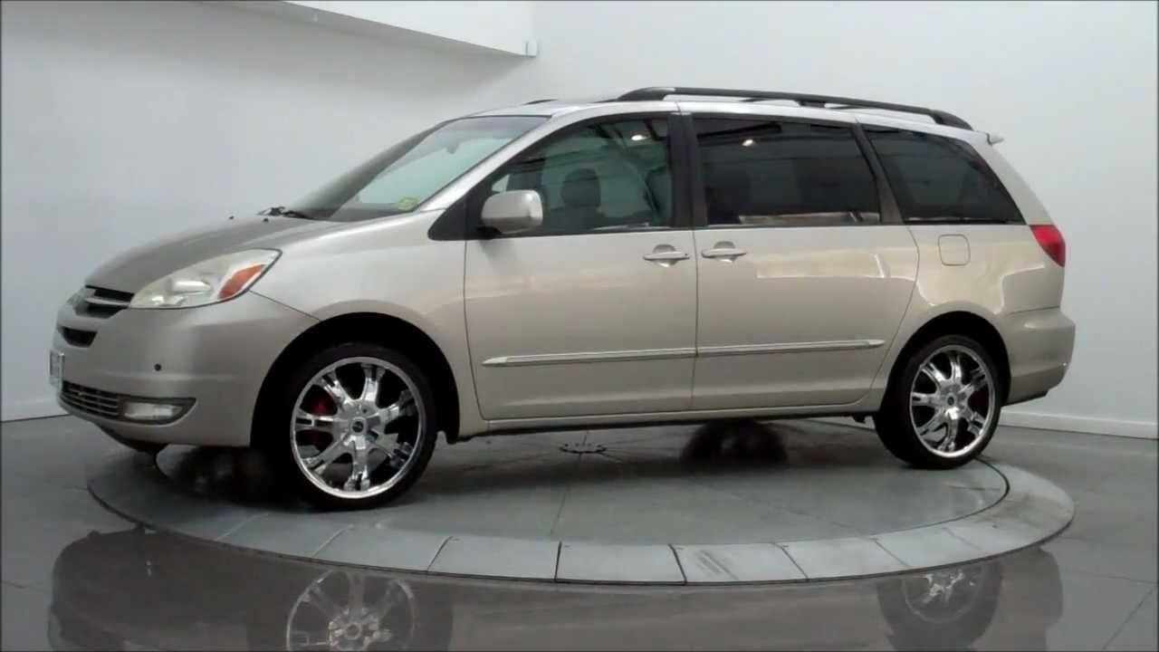 2004 toyota sienna xle limited owners manual