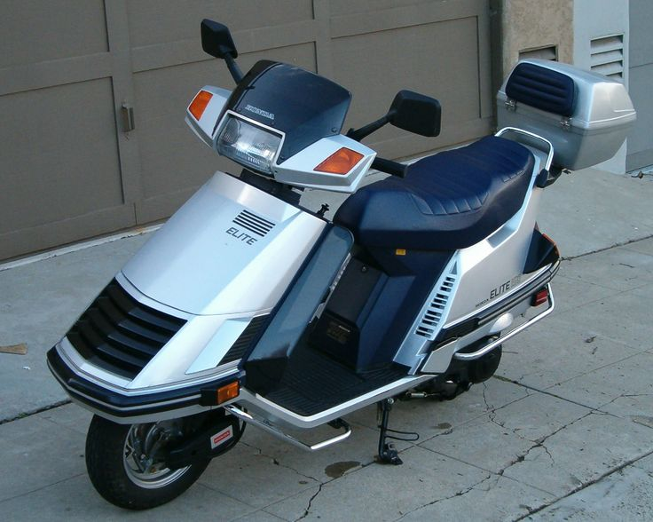 1984 honda elite 125 service manual