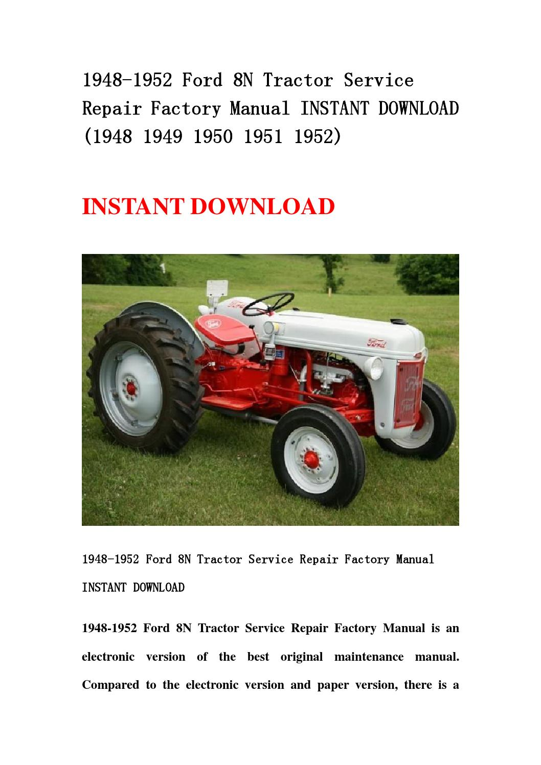 ford factory service manual download
