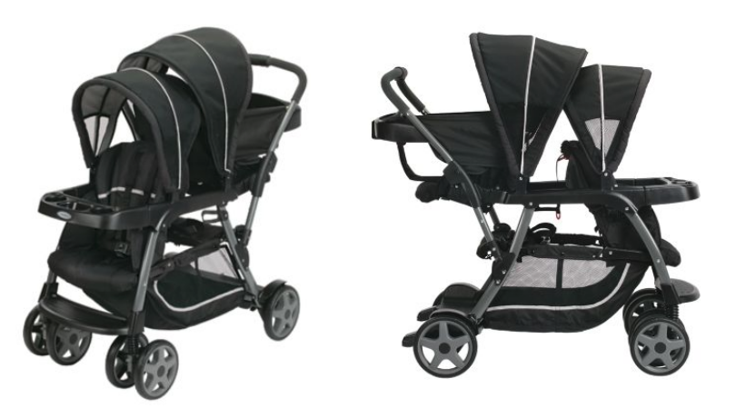 graco ready 2 grow double stroller manual