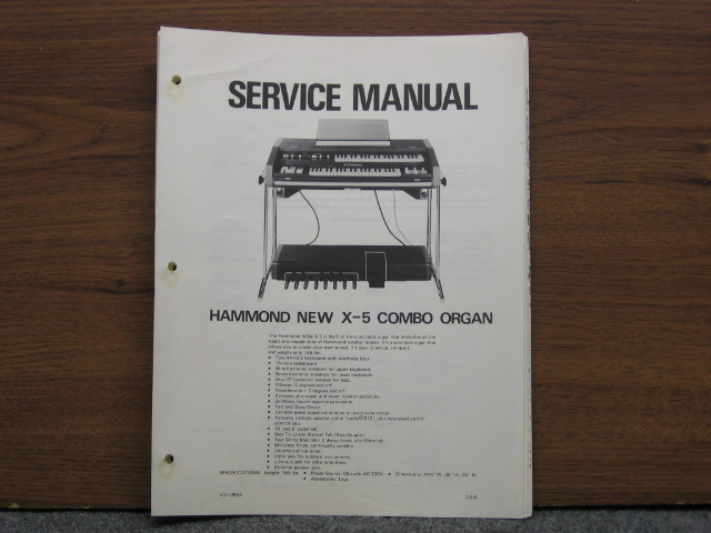 hammond b3 service manual pdf