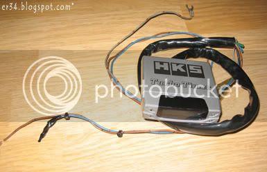 hks turbo timer type 0 user manual