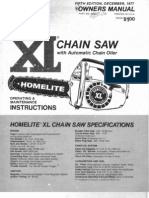 homelite xl 2 service manual