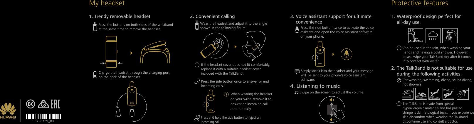huawei talkband b2 user manual