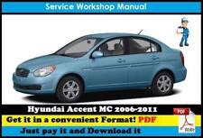 hyundai accent 2005 service manual