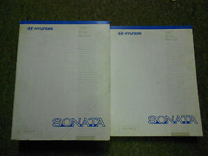 hyundai sonata 1997 service manual