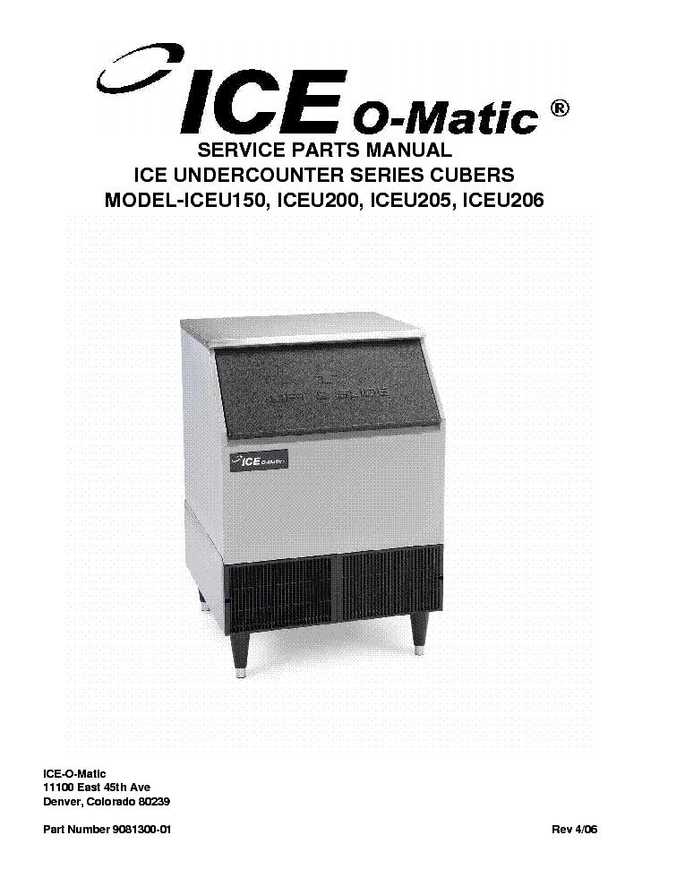 ice o matic service manual
