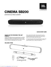 jbl cinema sb400 owners manual