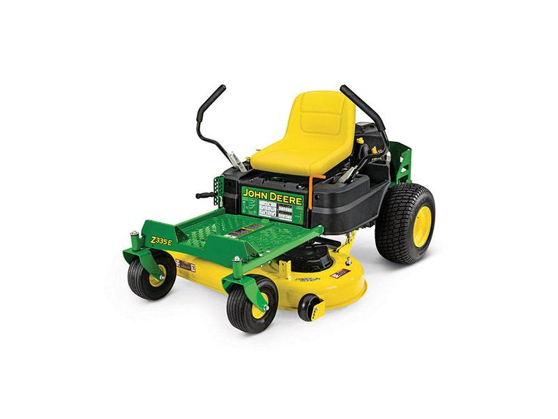 john deere z335e owners manual