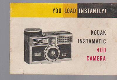 kodak instamatic 104 user manual