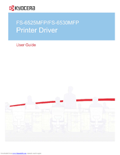kyocera fs 6525 mfp service manual