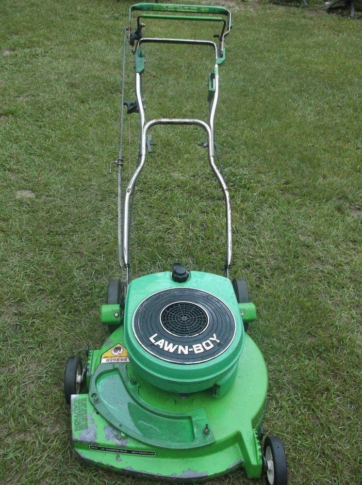 lawn boy 2 cycle mower manual