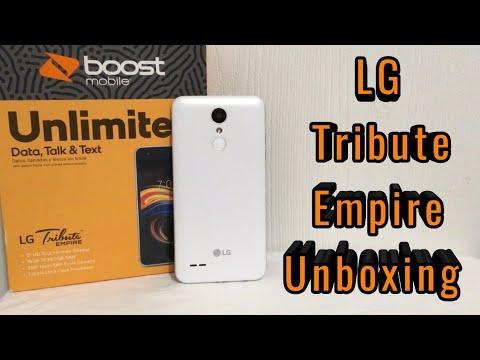 lg tribute empire user manual