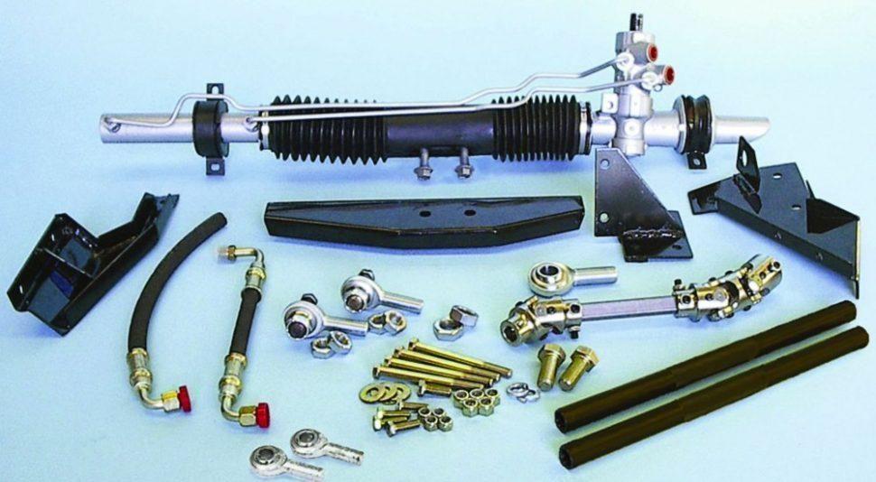 manual vs power steering mustang 2 rack & pinion