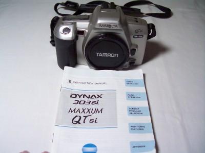 minolta maxxum qtsi owners manual