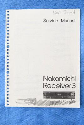 nakamichi receiver 2 service manual