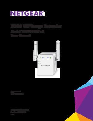 netgear n300 wifi range extender user manual