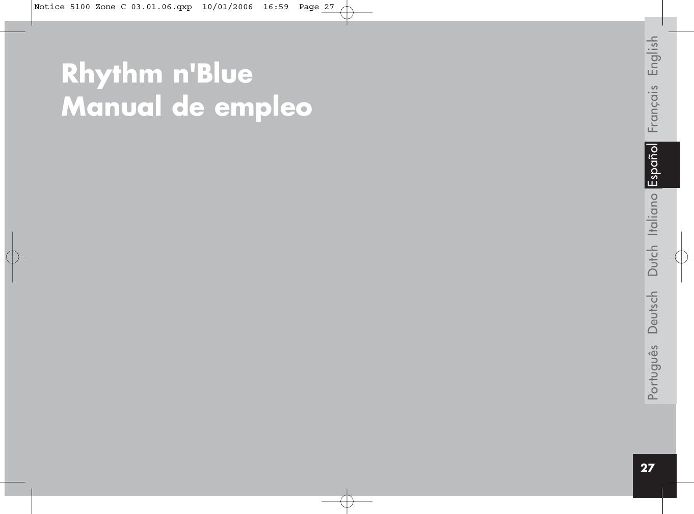 parrot rhythm n blue user manual