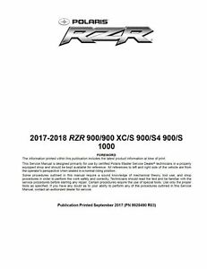 polaris rzr 1000 owners manual