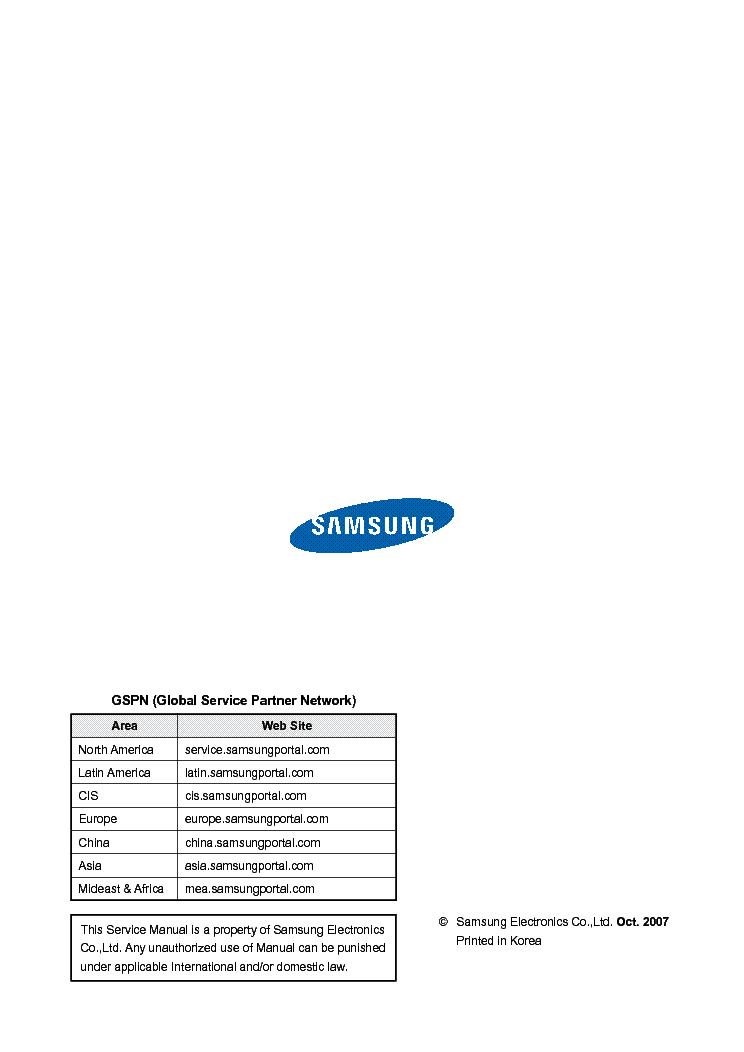 samsung tx r3079wh service manual