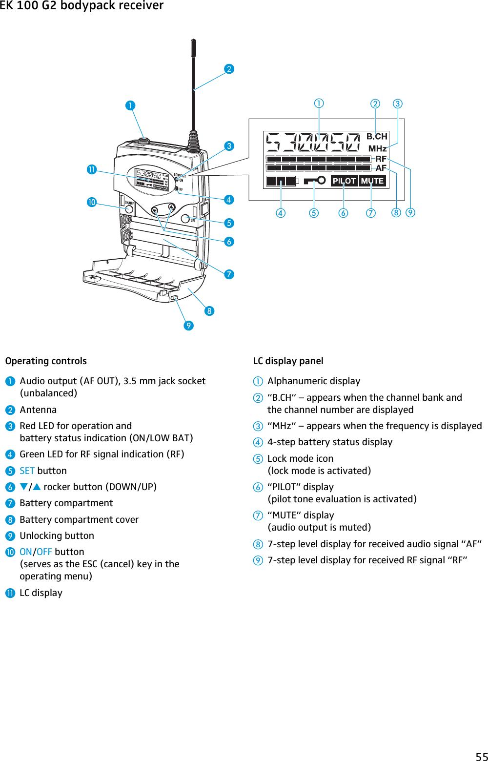 sennheiser vmx 100 user manual