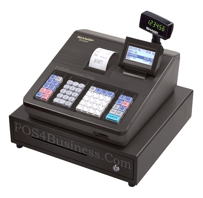sharp er a320 cash register user manual