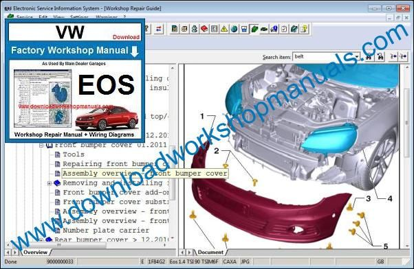 vw eos owners manual download